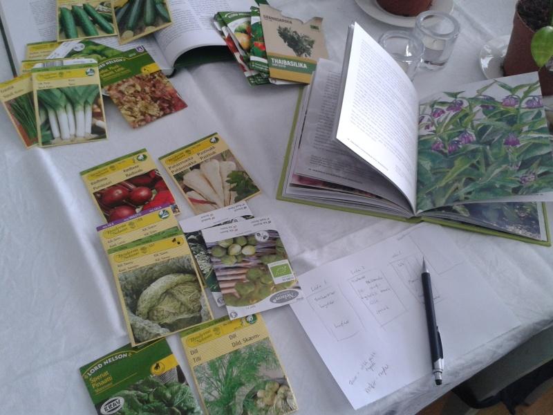 14 mars trädgårdsplanering