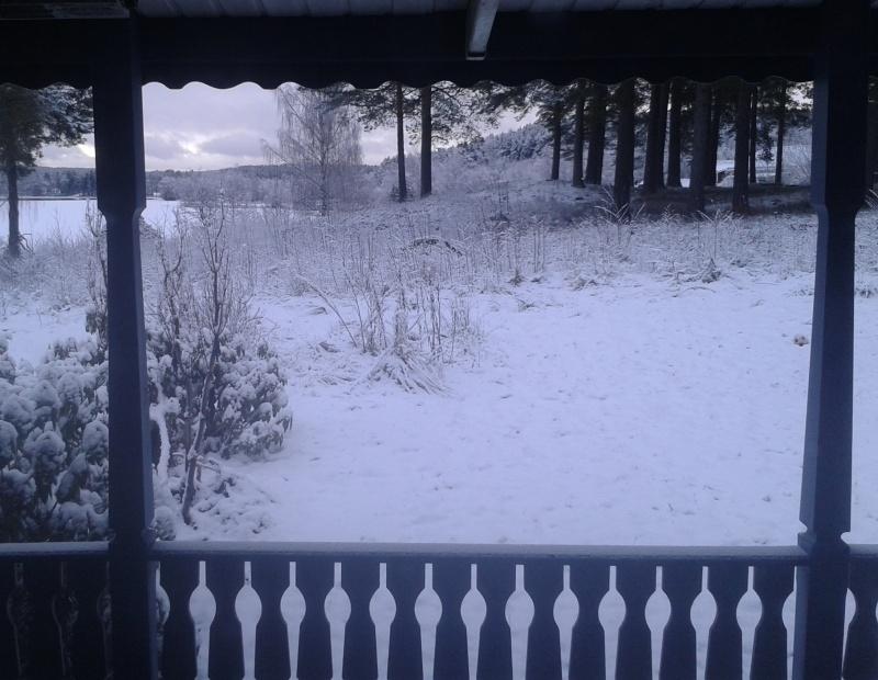 22 mars snö