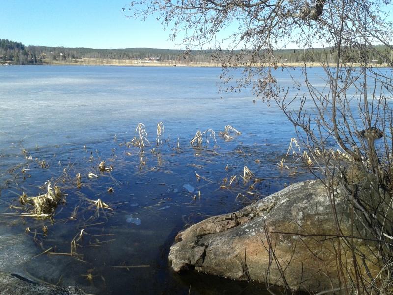 1 april sjön